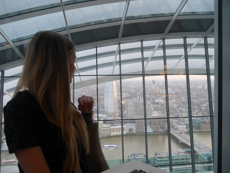Top London Restaurants, Restaurants with a view, Sky Garden, Darwin Brasserie