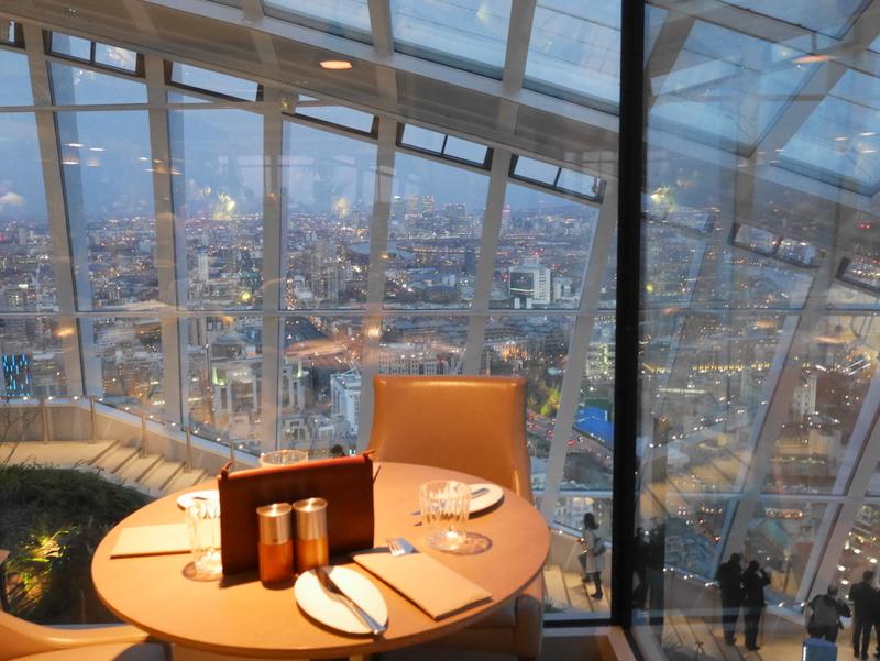 Top London Restaurants With A View Sky Garden Darwin Brerie