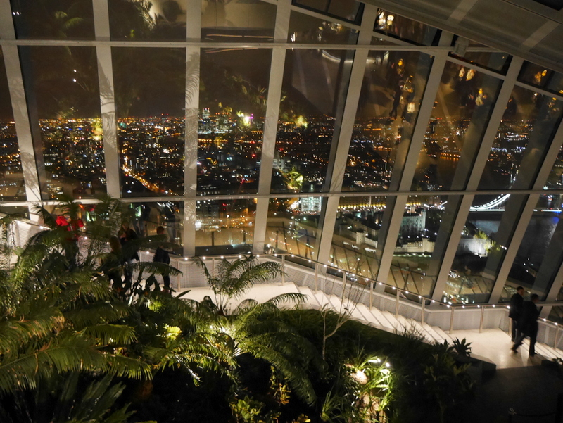 Top London Restaurants, Restaurants with a view, Sky Garden, Darwin Brasserie