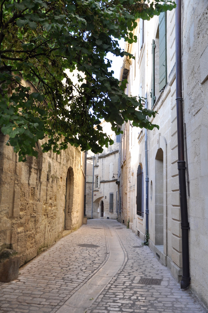 Uzes Alley Southern France