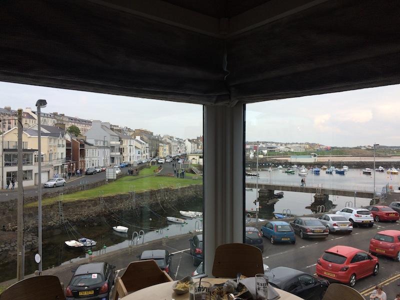 Views from Ramore Wine Bar, Portrush
