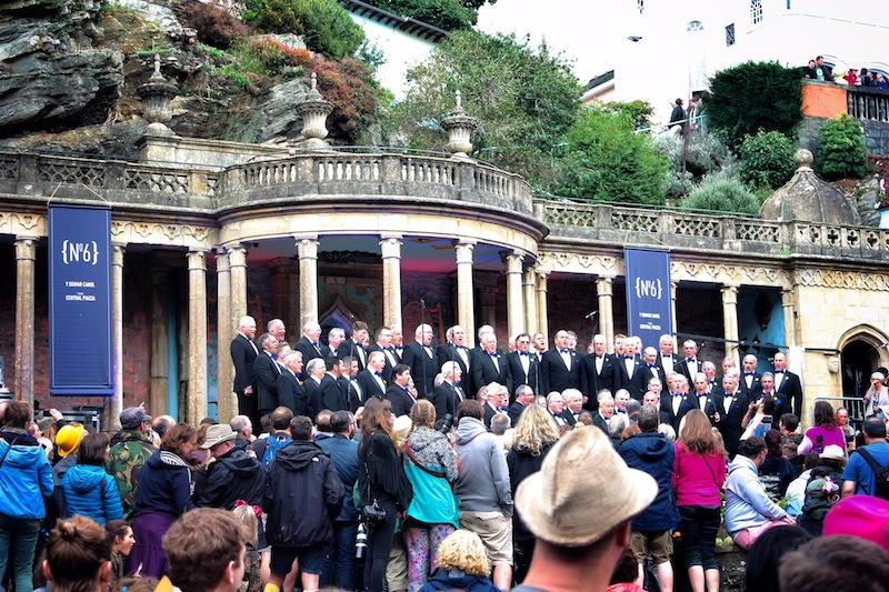 Festival Number 6 Welsh choir