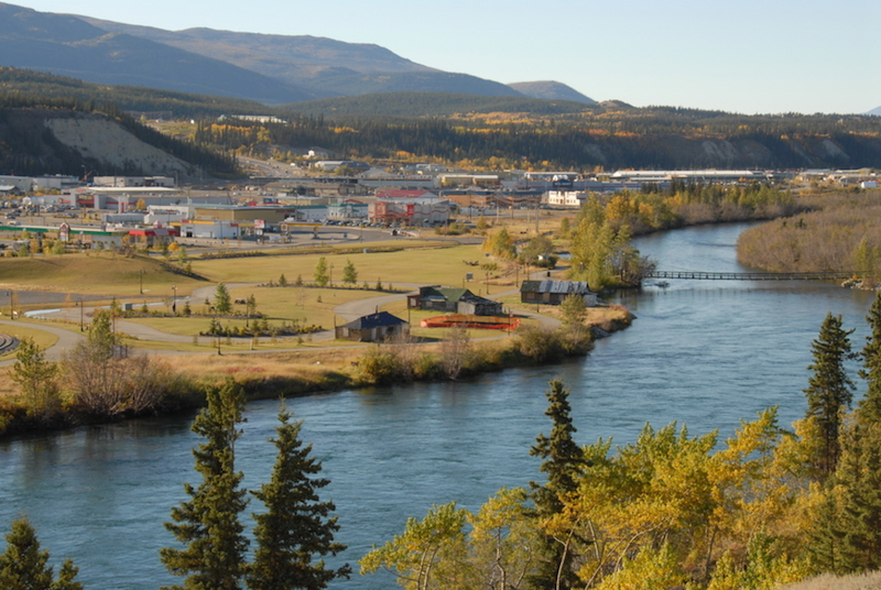 Whitehorse, Shipyards Park, Yukon River