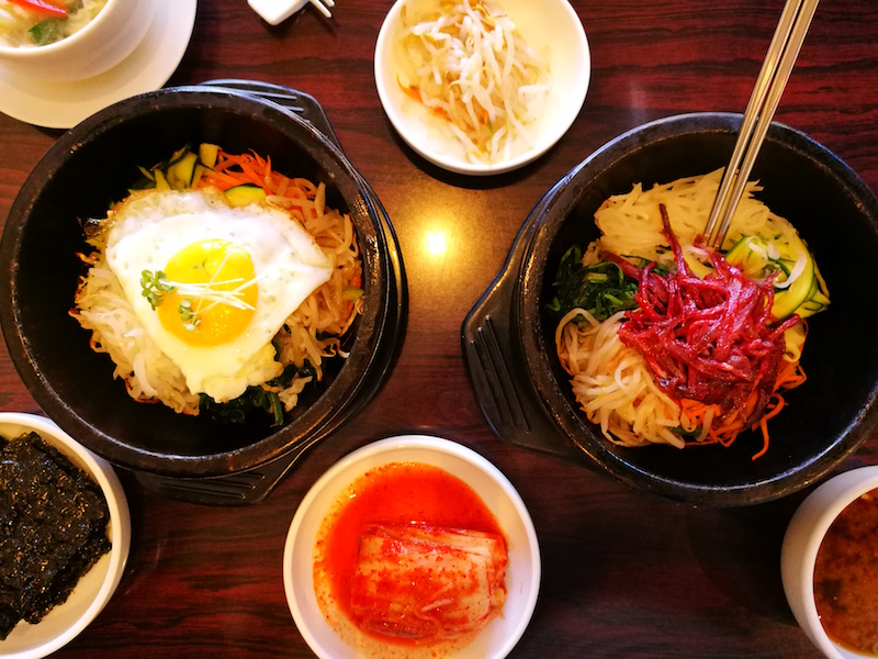 Korean food in New Malden