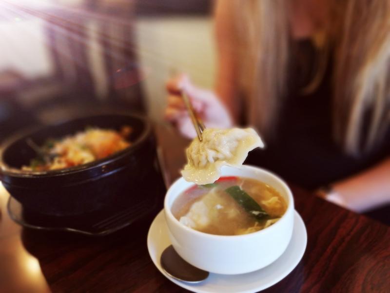 Korean food in New Malden