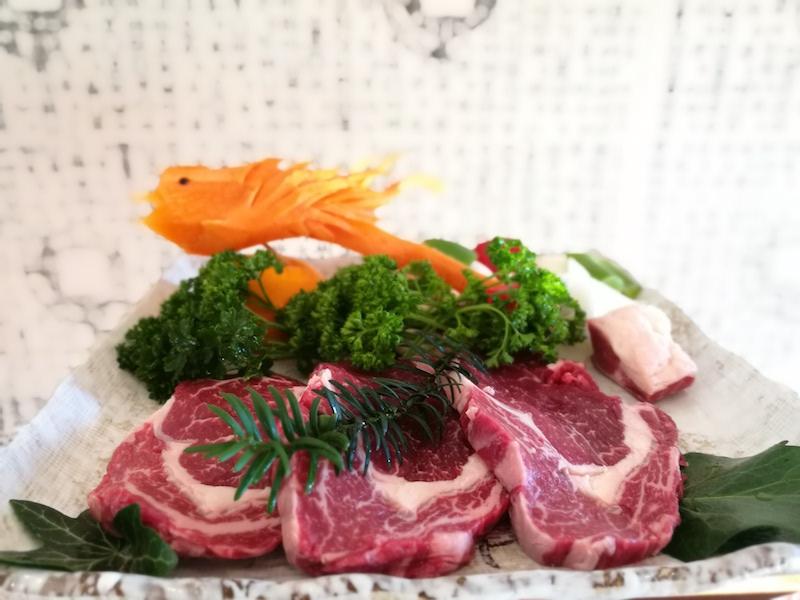 Sirlion steak at Butcher BBQ, New Malden