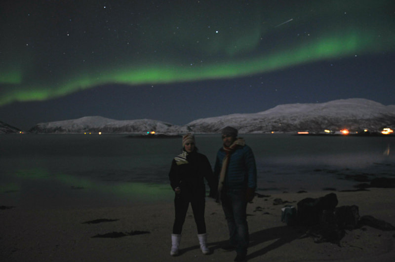 Searching for Northern Lights in the Yukon
