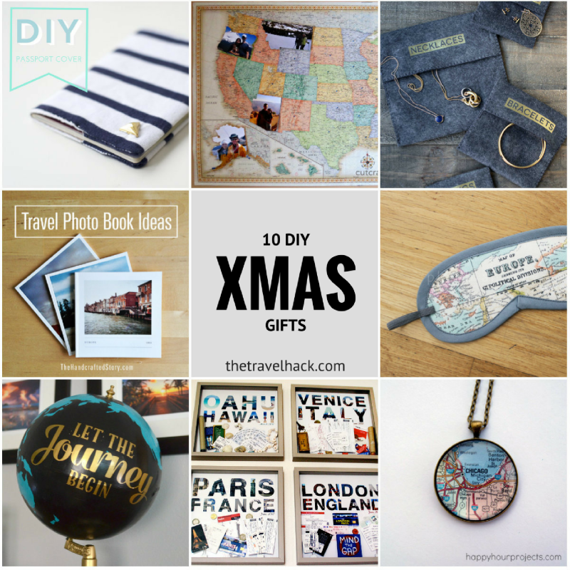 Travel Inspired DIY Christmas Gifts