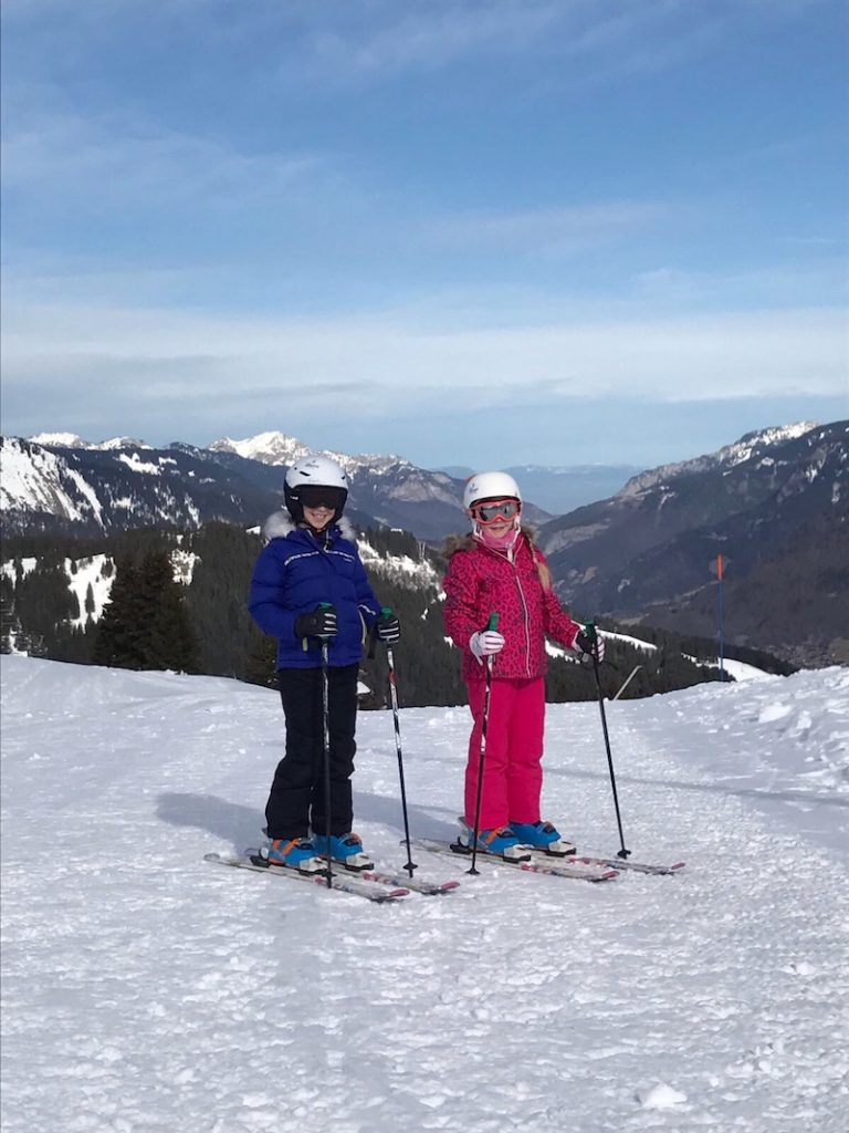 How to survive a family ski holiday with a baby and a toddler
