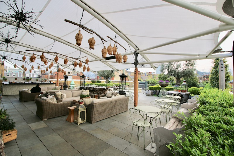 Ham yard hotel london i ve found your new favourite spot for Terrace hotel london
