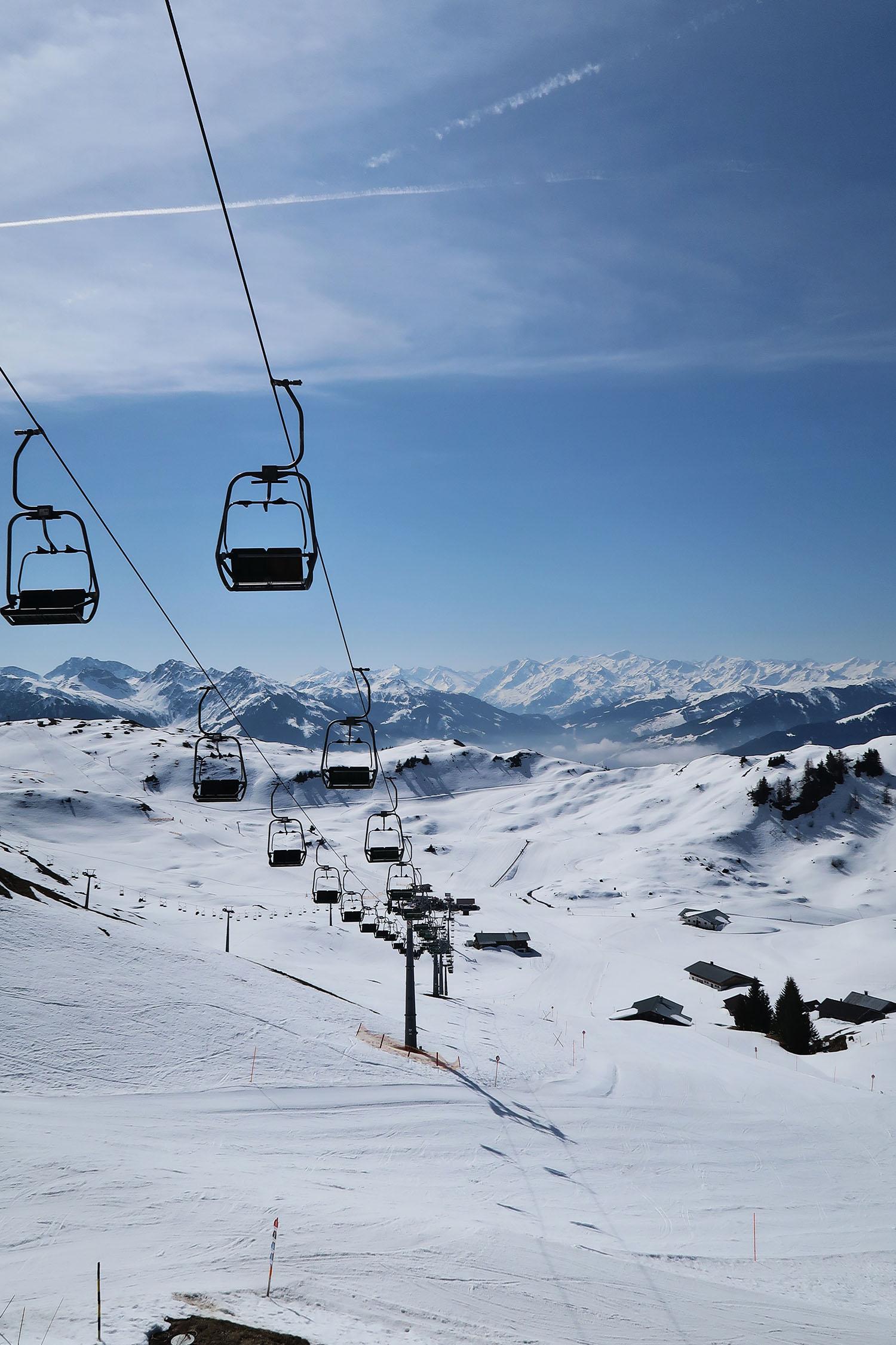 Ski Lift Kitzbuhel Austria