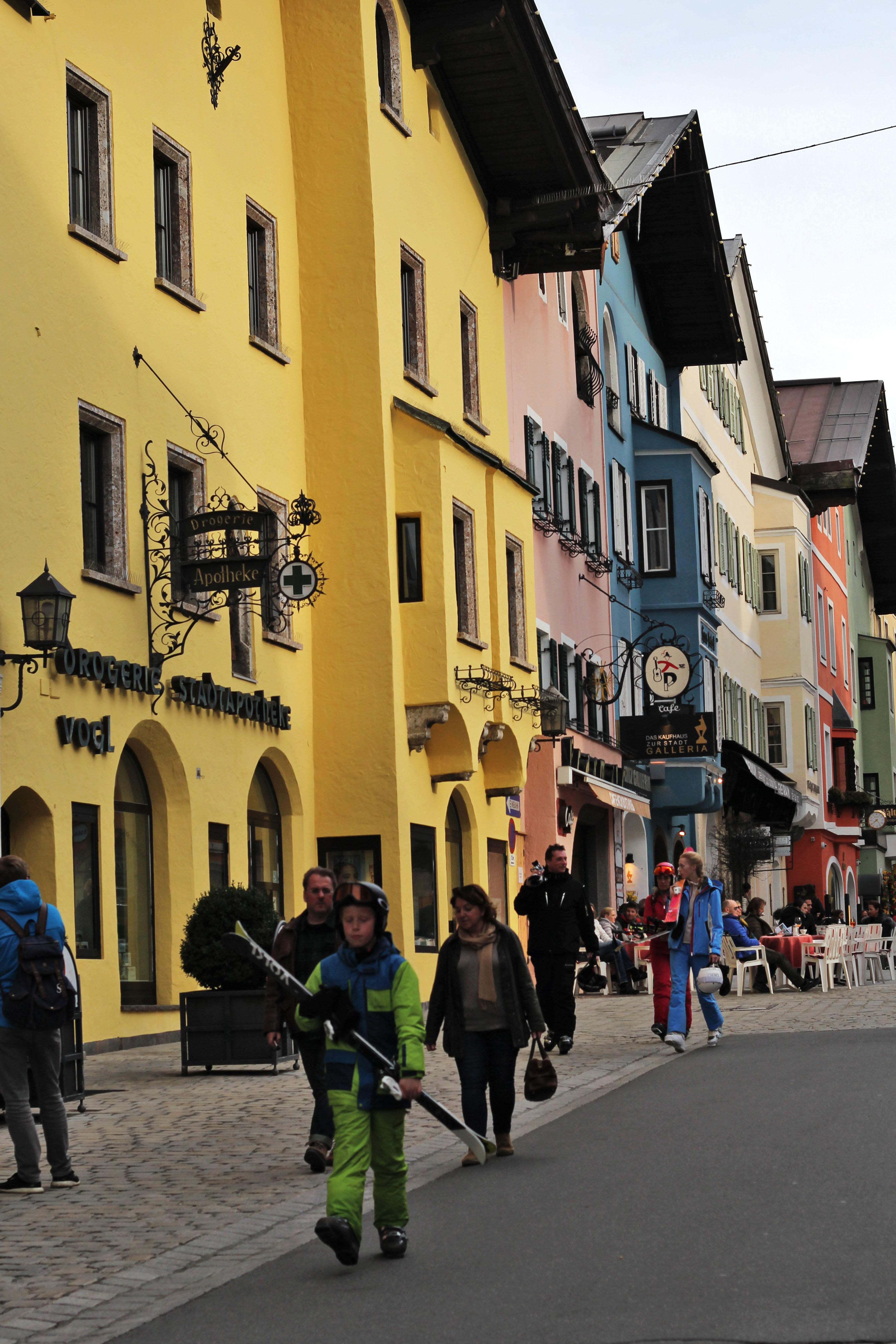 Ski Town Austria