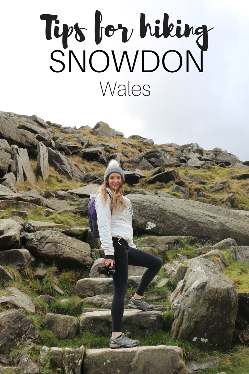 What to wear and tips for walking up Snowdon