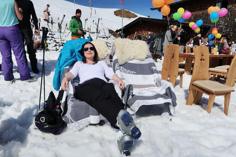 apres ski chill austria