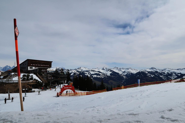 hahnenkamm ski slope