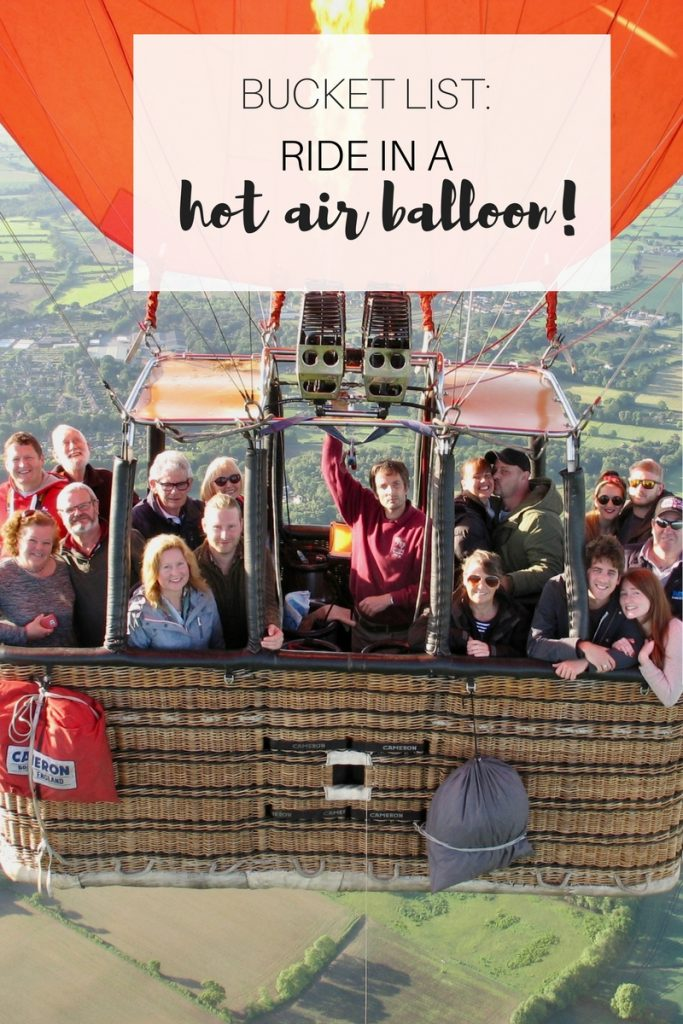 What's it really like to ride in a hot air balloon?
