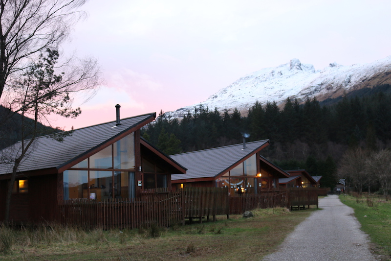 Forest Holidays Review - a winter trip to Scotland