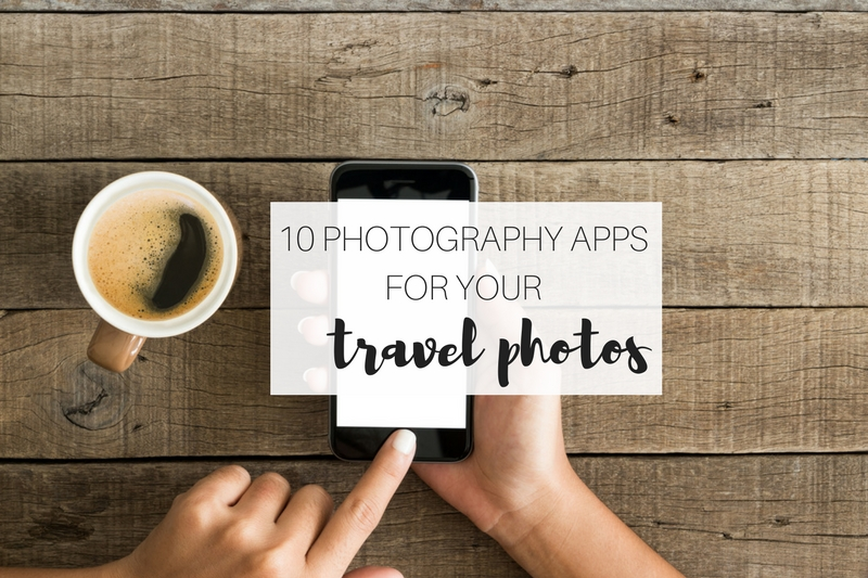 10 photography apps you need for your travel photos