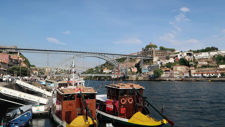 Porto view of the bridge