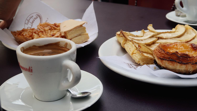 Portuguese Desserts and Coffee
