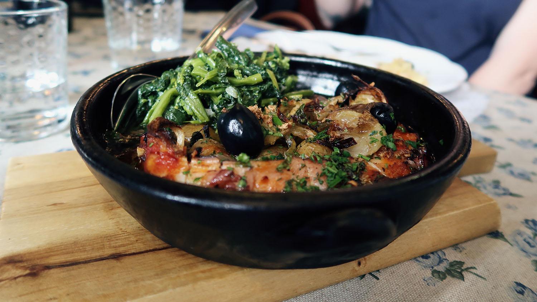 Portuguese Lunch