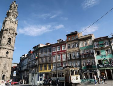 Tram in Porto