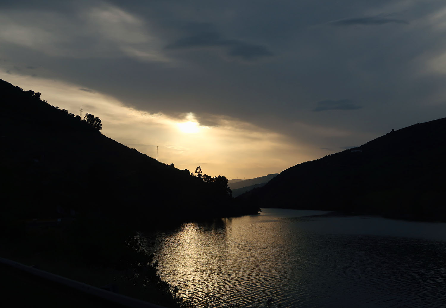 sunset douro valley