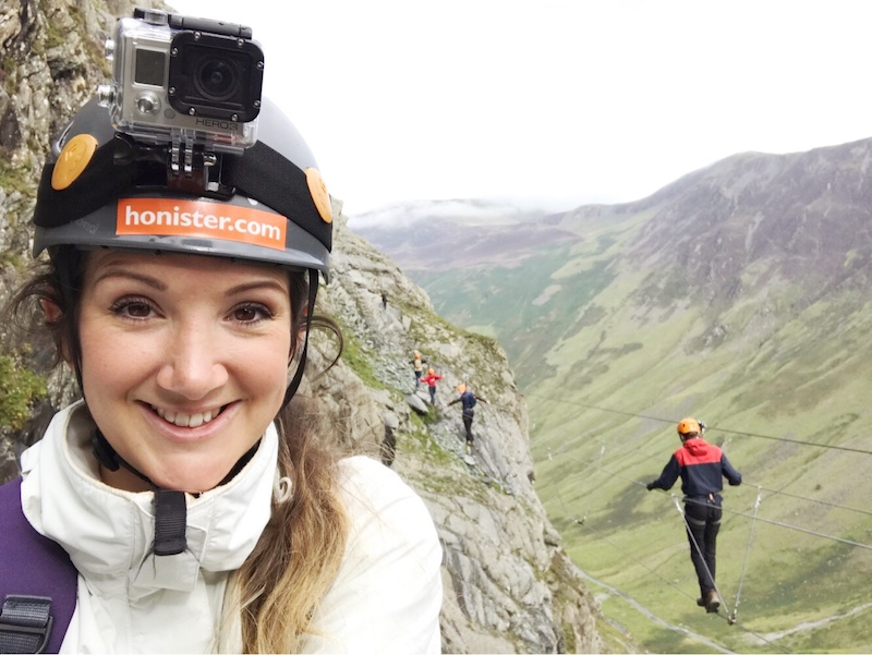 Adventures at Honister Slate Mine in the Lake District: Via Feratta Xtreme