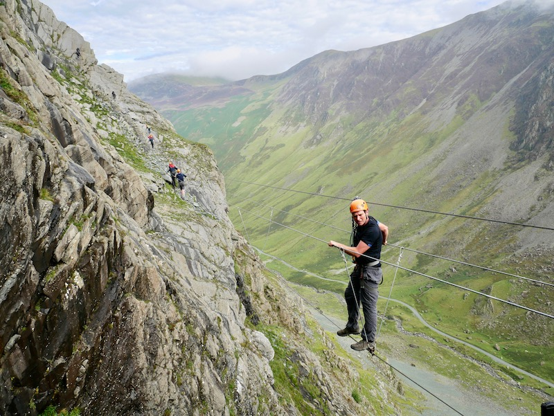 Via Ferrate Xtreme in the Lake District