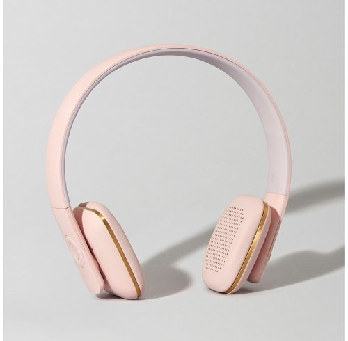 Dusty Pink Headphones