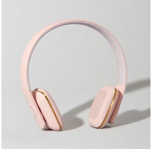 Dusty Pink Headphones
