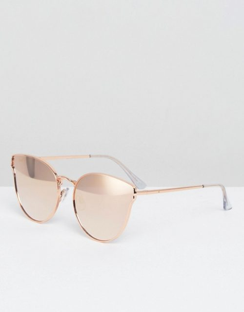 Quay Pink and Gold Sunglasses