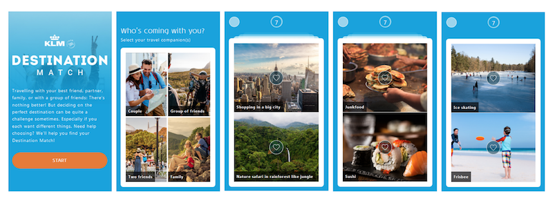 This Is A Fun New Quiz From KLM Where You Answer Some Quick Questions And Choose Your Preferences Photos It Cleverly Selects Perfect Destination