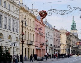 A festive weekend in Warsaw, Poland