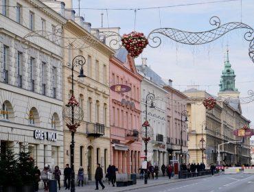 A festive weekend in Warsaw, Poland