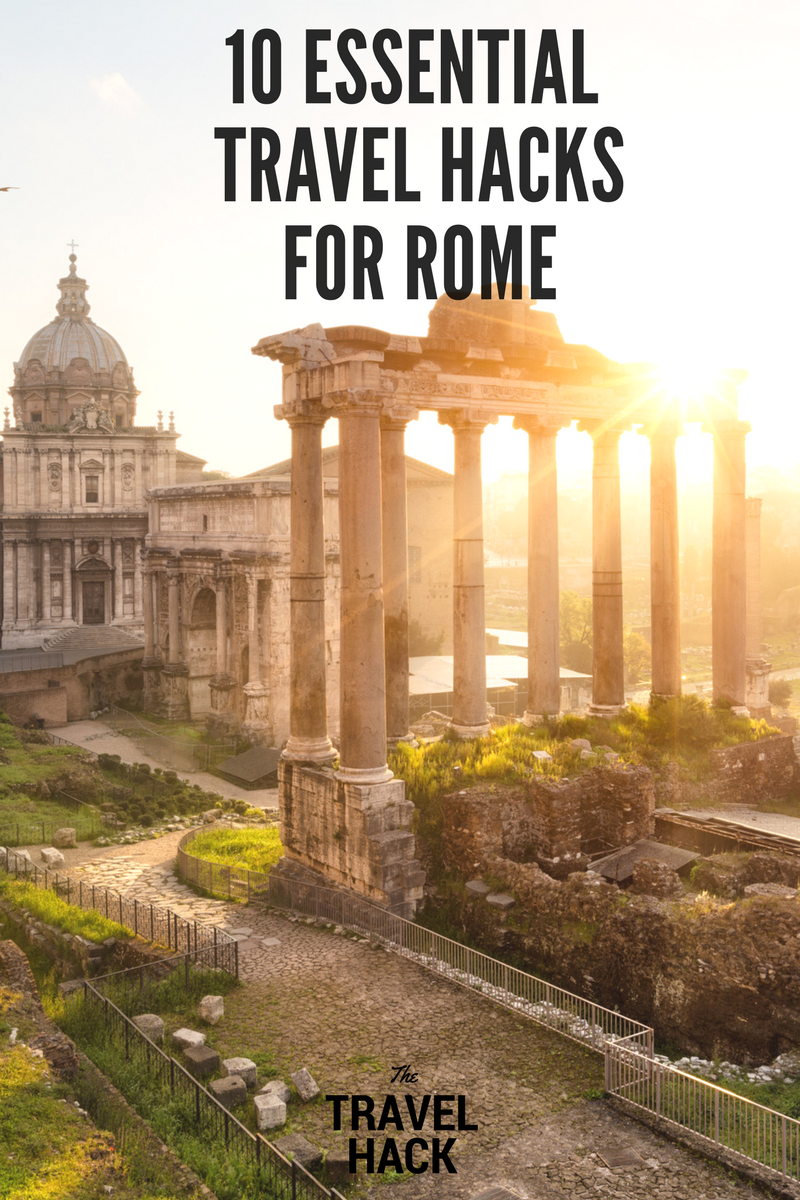 English In Italian: 10 Essential Travel Tips For Rome: A Must Read For First