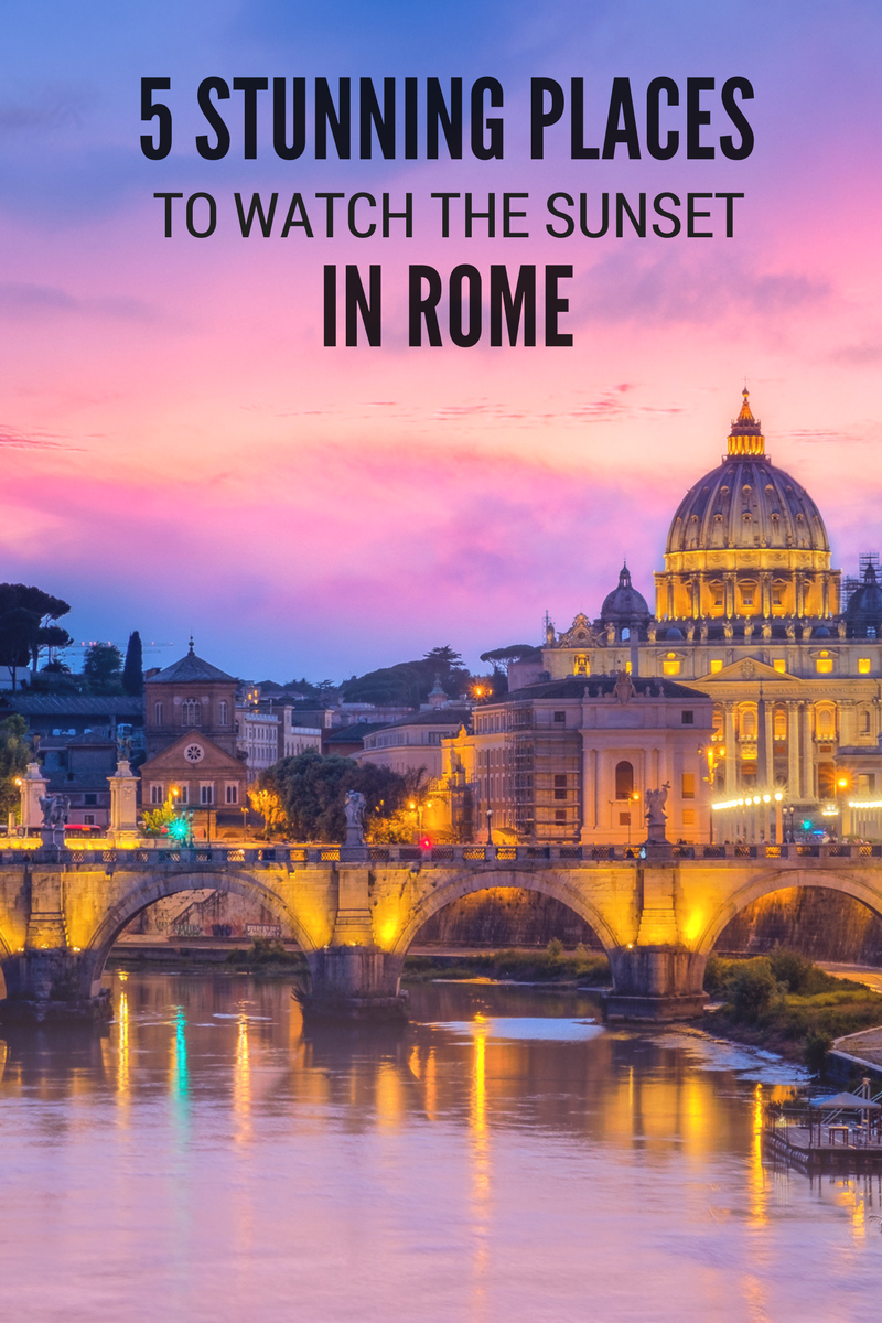 English In Italian: 5 Stunning Places To Watch The Sunset In Rome