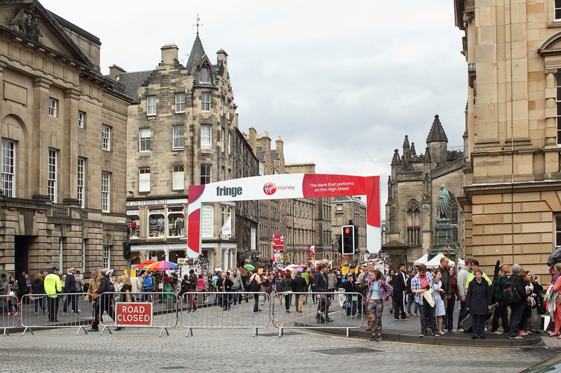 beginner's guide to the Edinburgh Fringe
