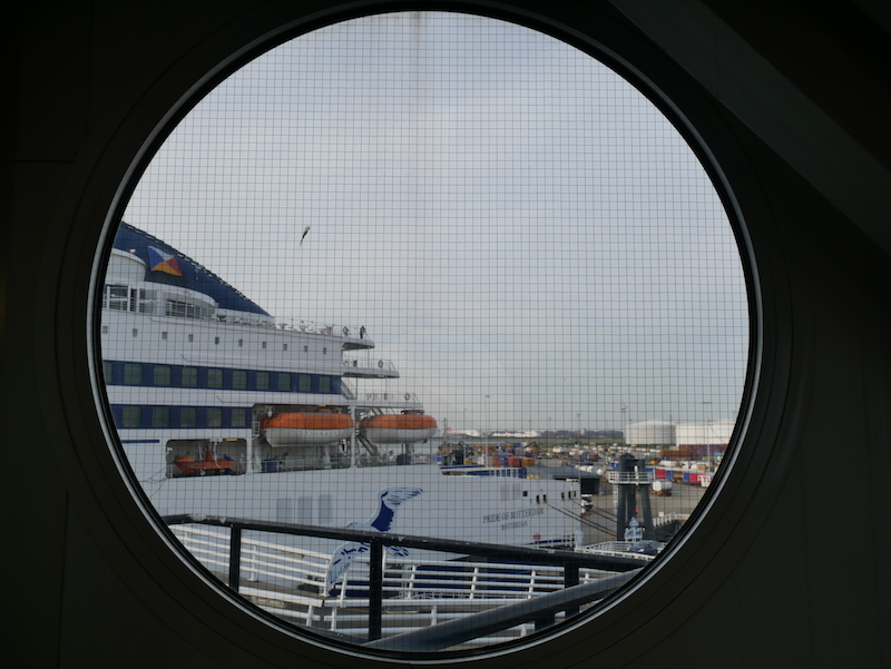 Getting the ferry to Rotterdam with P&O Ferries
