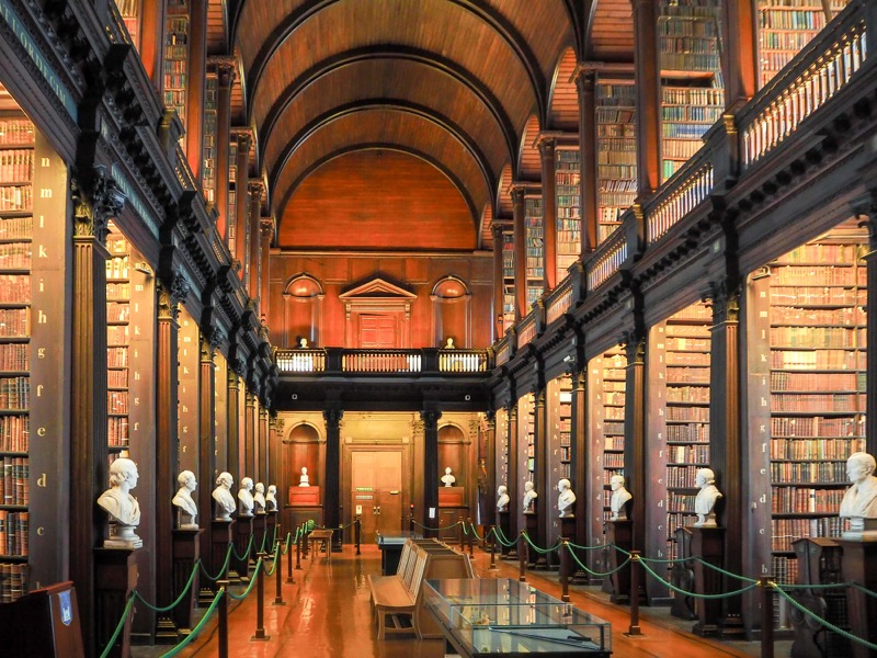 50 Things to do in Dublin - Trinity College Library
