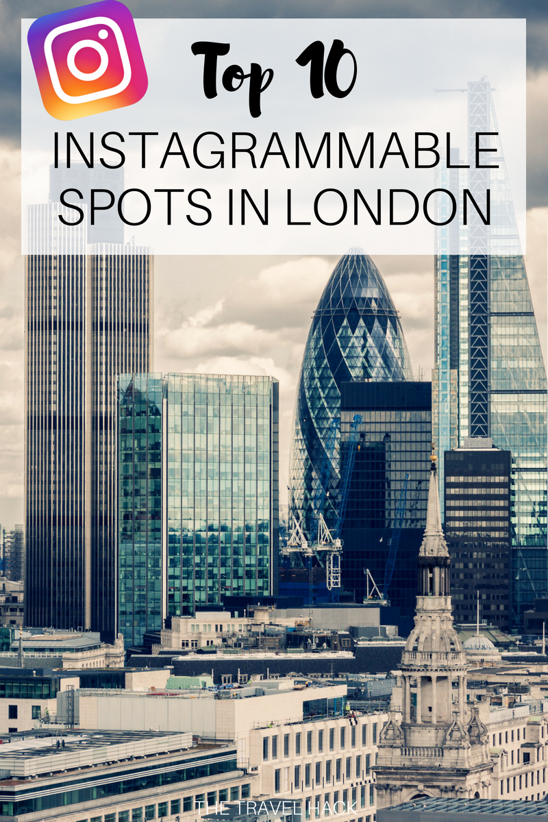 10 Instagram spots in London