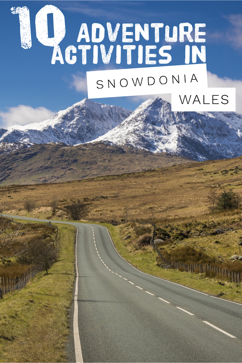 10 adventure activities in Snowdonia, Wales