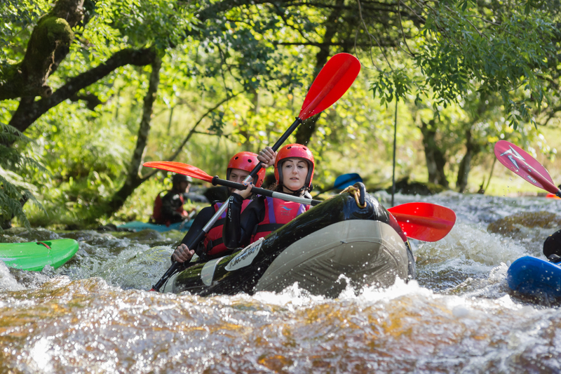 White water rafting - Top 10 Adventure Activities in Snowdonia