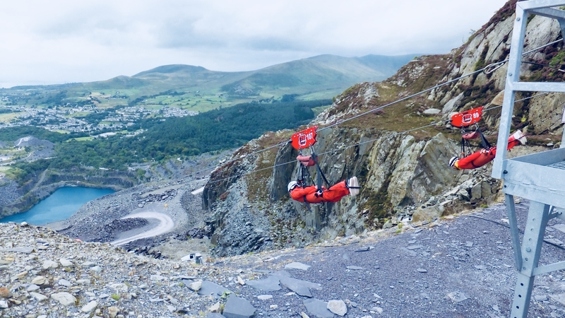Zip World Velocity zip line: Top 10 Adventure Activities in Snowdonia
