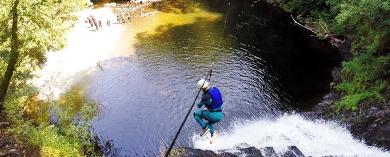 Canyoning - Top 10 Adventure Activities in Snowdonia