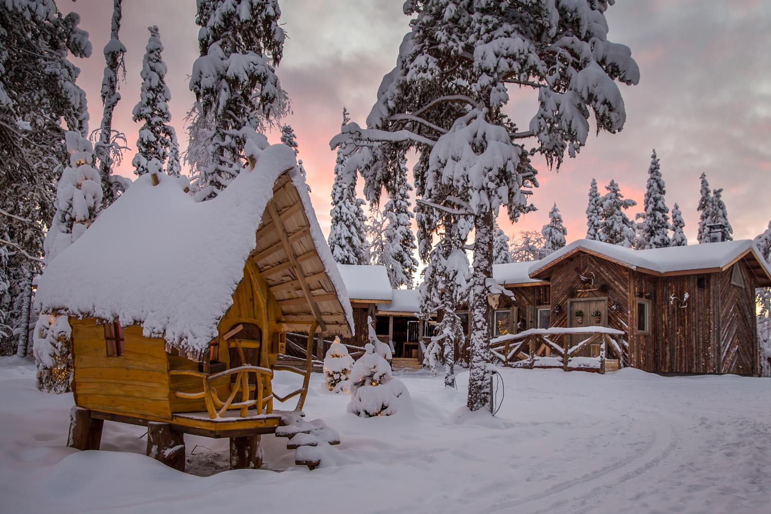 Tonttula Elves Hideaway - 9 Incredible places to stay in Finnish Lapland