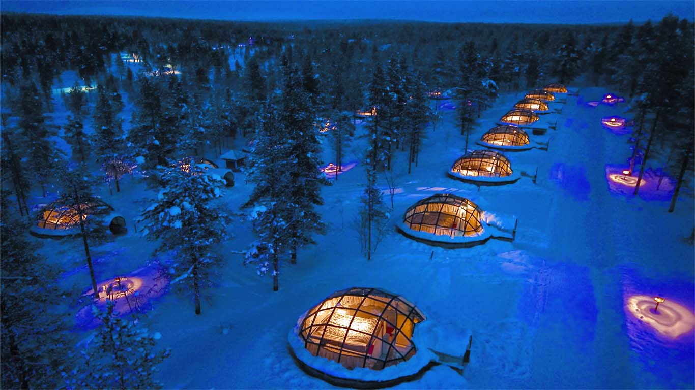 Kakslauttanen - 9 Incredible places to stay in Finnish Lapland