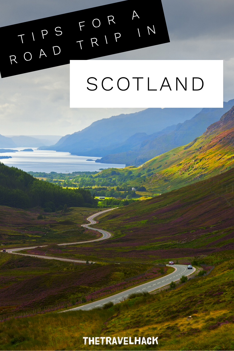 The Travel Blogger's Guide to Scotland : Scottish Road Trip Tips