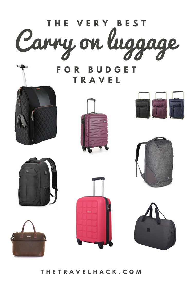 70f773ebfc92 10 Best Carry-On Luggage Options for Travel - The Travel Hack Travel ...