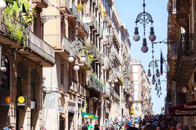 Street in Gothic Quarter - Top 10 tours in Barcelona and Beyond